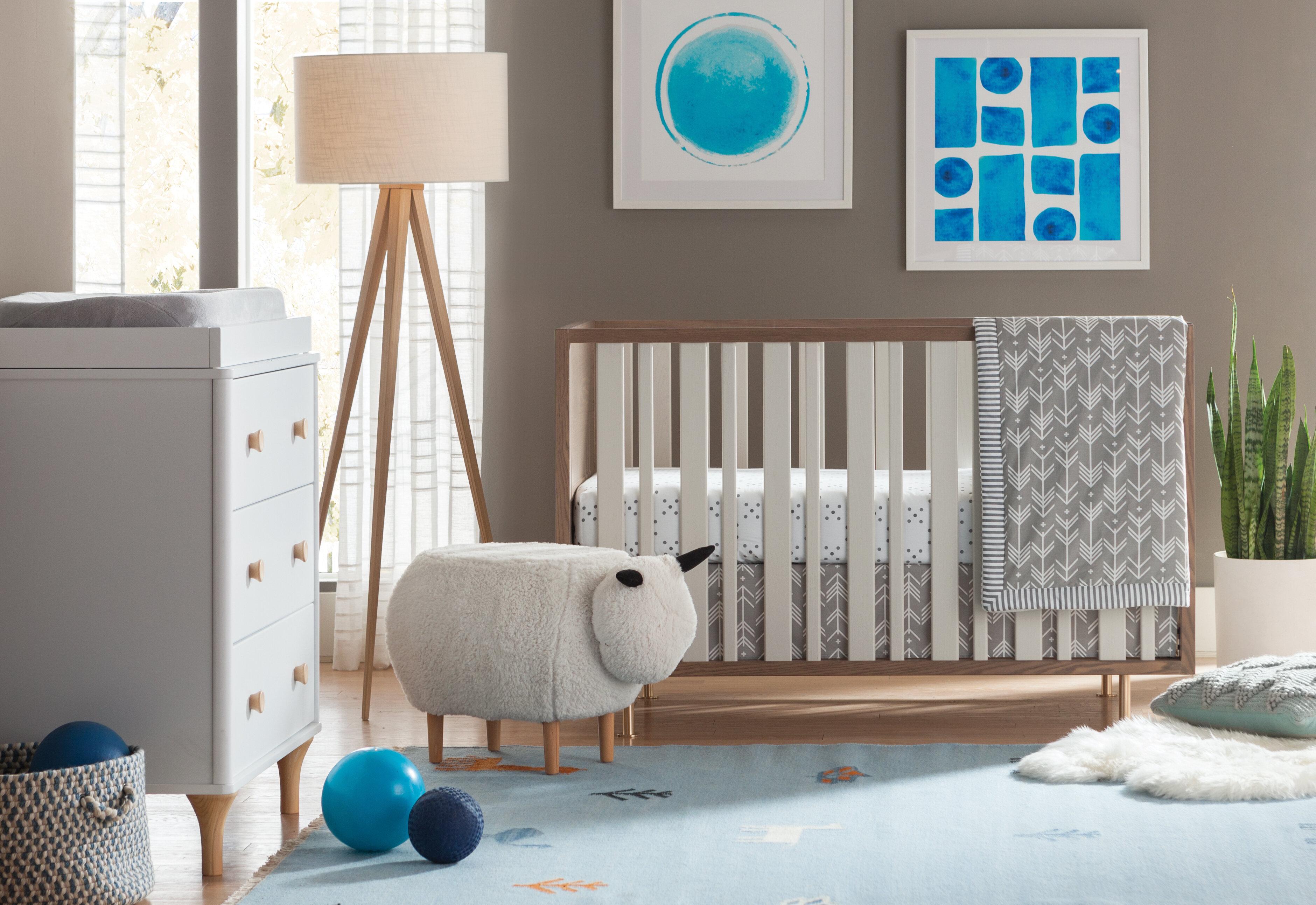 6707e5c323e9 Harriet Bee Swayze 3 Piece Crib Bedding Set   Reviews