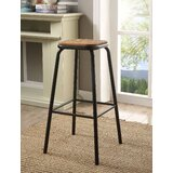 Ling 30 Bar Stool (Set of 2) by 17 Stories