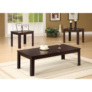 Jenkinson Fine Looking 3 Piece Coffee Table Set by Winston Porter