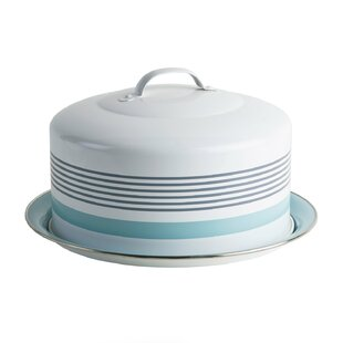 Round Cake Tin with Cover Lid and Handle