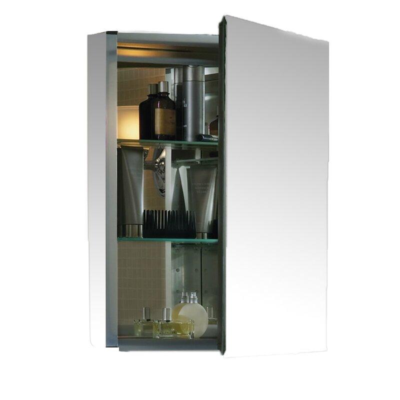 20 X 26 Aluminum Medicine Cabinet With Mirrored Door