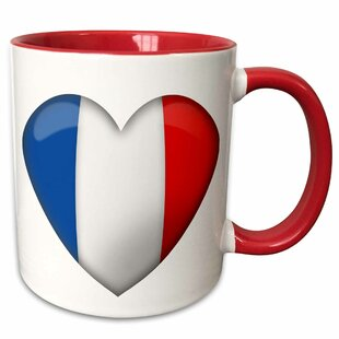 Elser Patriotic Heart Coffee Mug