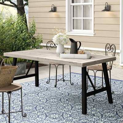 Menneken Solid Wood Dining Table by Gracie Oaks 2020 Sale