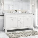 Larosa 61 Double Bathroom Vanity Set by Charlton Home®