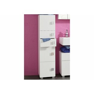 Ringler 33 X 133.5cm Free Standing Tall Bathroom Cabinet By Schildmeyer