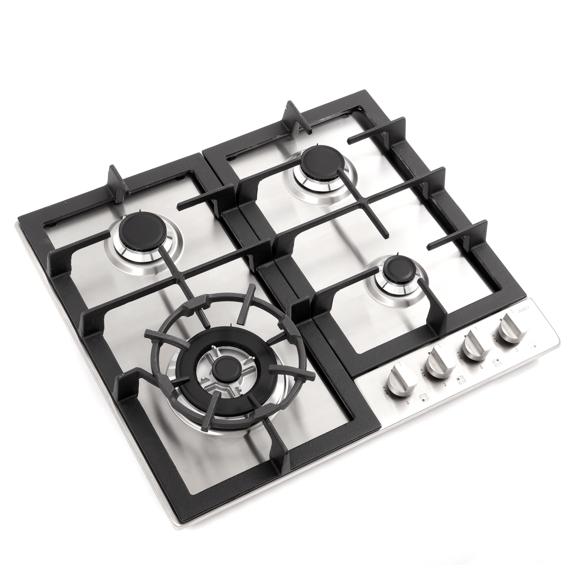 24 Black Electric Tempered Glass Built-in Kitchen 4 Burner Gas Cooktop ON SALE NOW !! !!