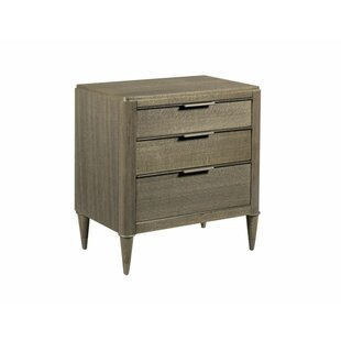 Aurora 3 Drawer Nightstand by Foundry Select Savings