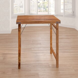 Fakhar Wooden Folding Bar Table By World Menagerie