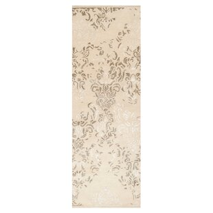 Best Reviews Melaney Hand Woven Winter White Area Rug By Ophelia & Co.