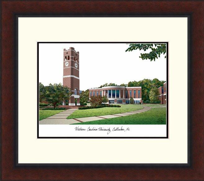 NCAA East Carolina Pirates Alumnus Framed Lithograph