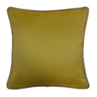 Taffeta Metallic Throw Pillow