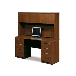 Witchel Standard Desk Office Suite with Hutch