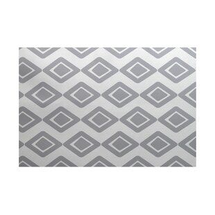 Abbie Gray Indoor/Outdoor Area Rug ByEbern Designs