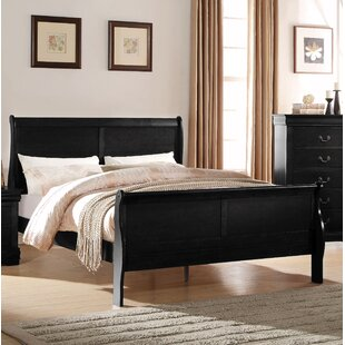 Bowyer Sleigh Bed by Charlton Home