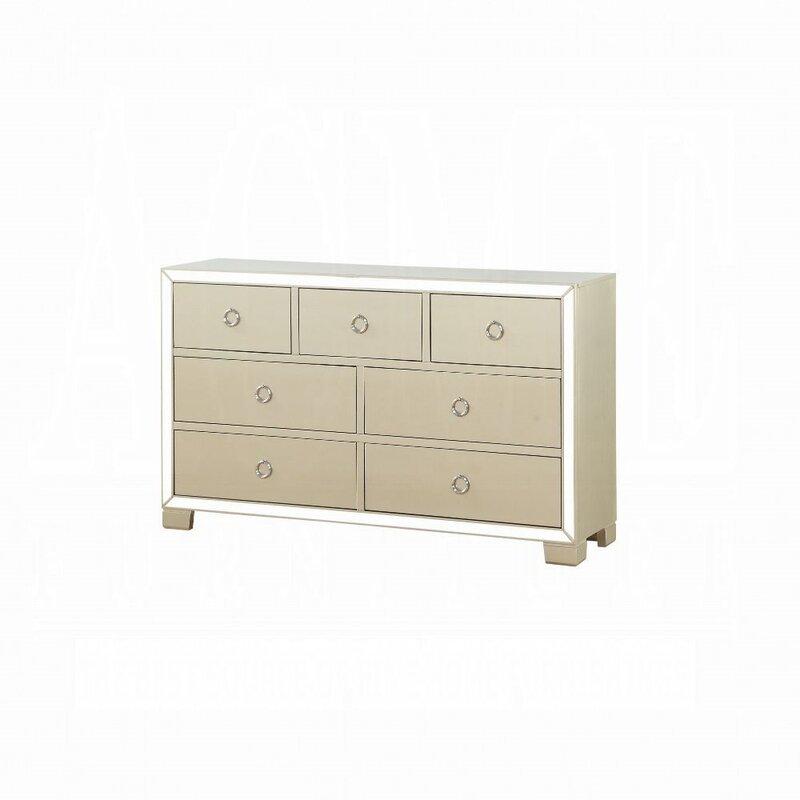 Rosdorf Park Cangelosi 7 Drawer Dresser Wayfair Ca