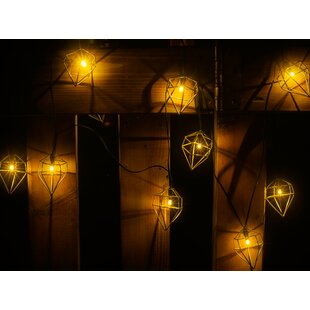 Turn on the Brights Harleigh Metal Prism 10-Light Novelty String Lights
