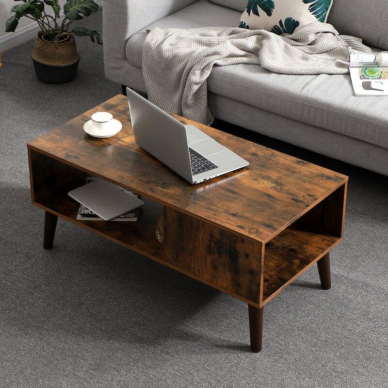 Mercury Row Gascon Coffee Table With Storage Reviews Wayfair