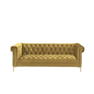 Batts Polyester Chesterfield Sofa