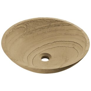 MR Direct Stone Circular Vessel Bathroom Sink