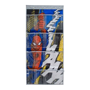 Affordable Spiderman 8 Pair Overdoor Shoe Organizer By Everything Mary