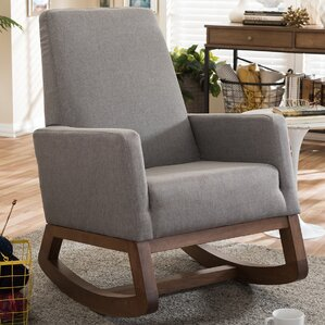 Baxton Studio Rocking Chair by Wholesale Interiors