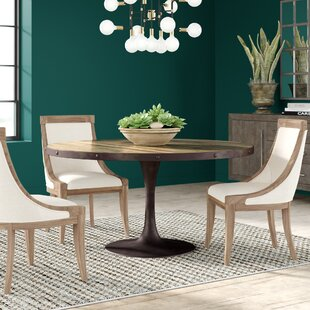 Amherst Metal Base Dining Table