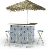 Anchors Away Tiki Bar Set