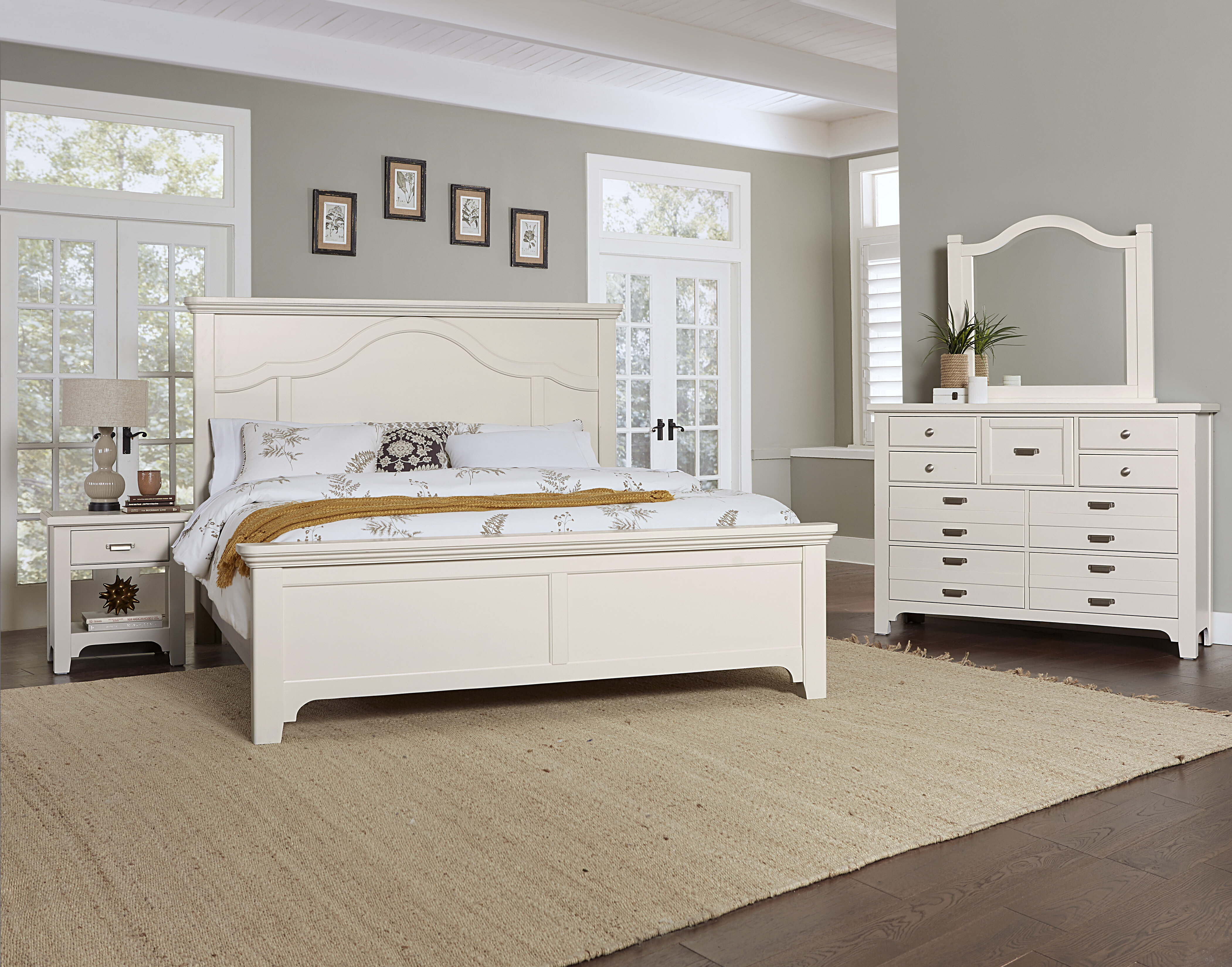 Darby Home Co Erving Solid Wood