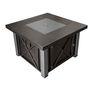 Outdoor Steel Propane Gas Fire Pit Table