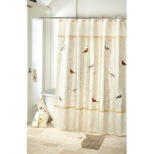 Affordable Price Gilded Birds Shower Curtain ByAvanti Linens