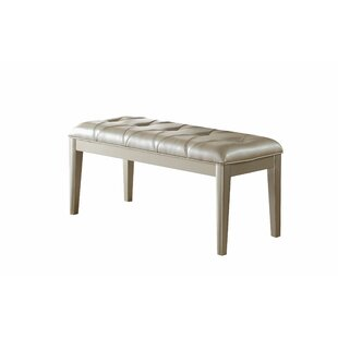 Raoul Faux Leather Bench