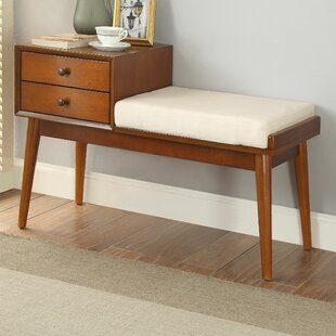 George Oliver Vaccaro Upholstered Storage Bench
