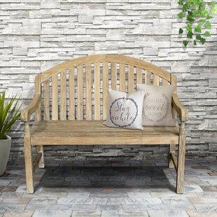 Mcleod Outdoor Wooden Garden Bench