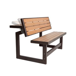 Convertible Wood Park Bench