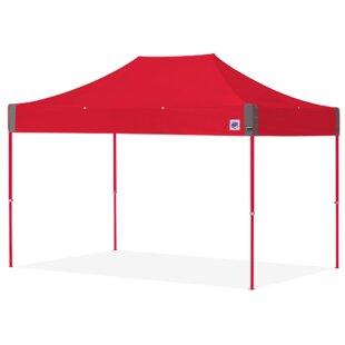 E-Z UP 8 Ft. W x 12 Ft. D Steel Pop-Up Canopy