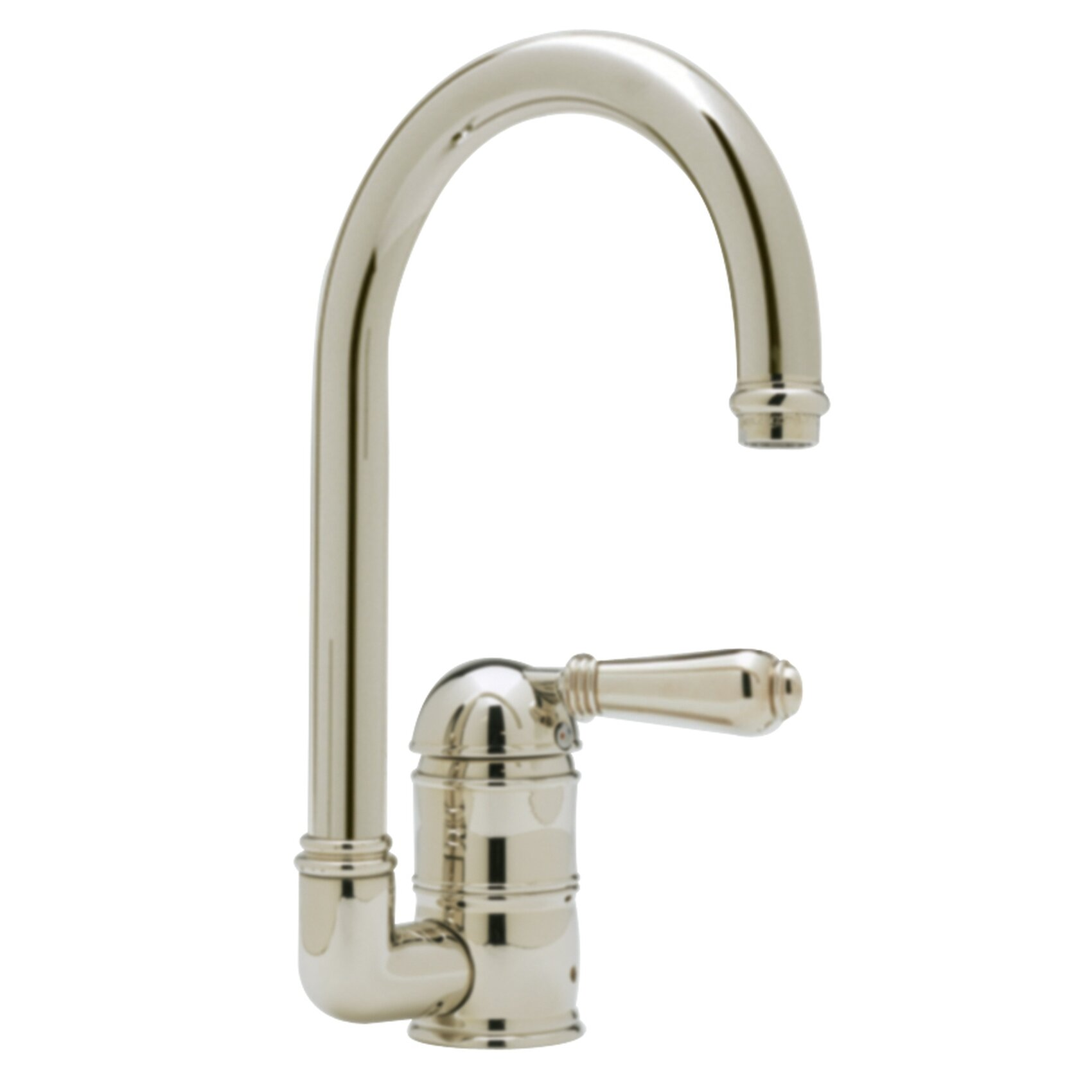 Country Single Handle Kitchen Faucet with Side Spray