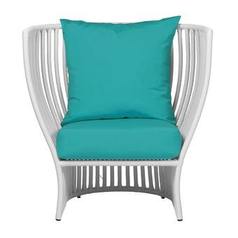 Patio Chair With Sunbrella Cushions