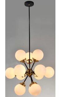 Brayden Studio Santa Monica 12-Lights Sputnik Chandelier