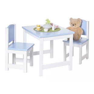 Children's 3 Piece Table and Chair Set by TICAA