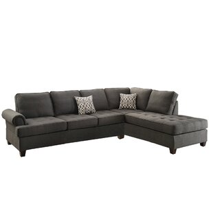 Great Price Brylee Right Hand Facing Sectional by Winston Porter Reviews (2019) & Buyer's Guide
