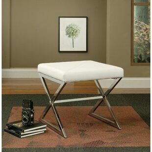 Ivey Upholstered Vanity Stool by Orren Ellis