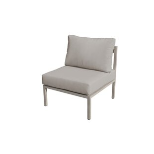 Carlisle Armless Armless Patio Sofa with Cushions