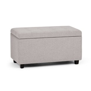 Cosmopolitan Upholstered Storage Bench by Simpli Home