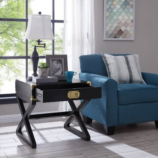 Cleorand End Table with Storage