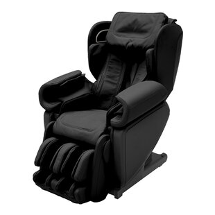 4D Premium Reclining Zero Gravity Heated Full Body Massage Chair with Ottoman