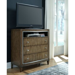 House of Hampton Newt 3 Drawer Media Chest