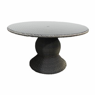 Medrano Wicker Pub Table Base ..