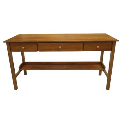 Avildsen Solid Wood Writing Desk by Darby Home Co