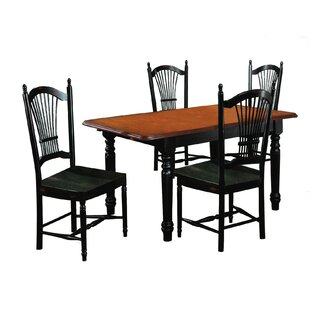 Lockwood 5 Piece Extendable Dining Set
