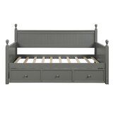 Shepherds Twin Storage Platform Bed by Rosecliff Heights